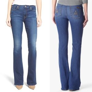 NWT 7 For All Mankind A-Pocket Flare Jeans